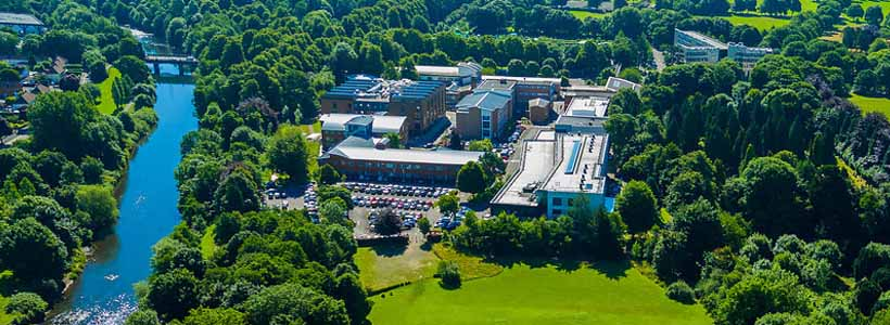 Llandaff Campus Arial Photo - Cardiff Metropolitan University