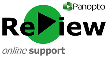 Panopto ReView online support pages