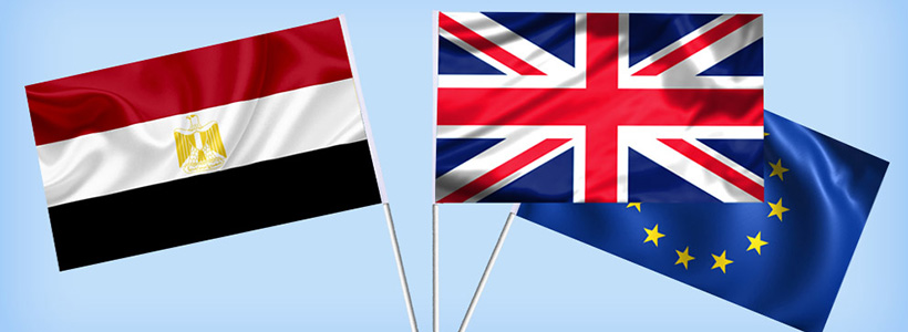 Egyptian-EU-UK-flags