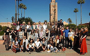 Cardiff Met Students - Morocco