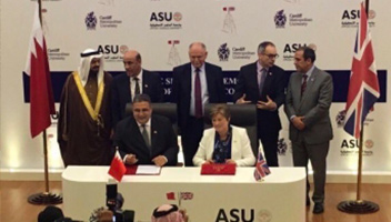 Bahrain signing ceremony.