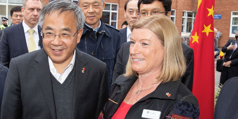 Chinese Vice-Premier visiting Cardiff Met University