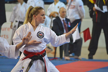 Charlotte Greece - Karate Scholarship