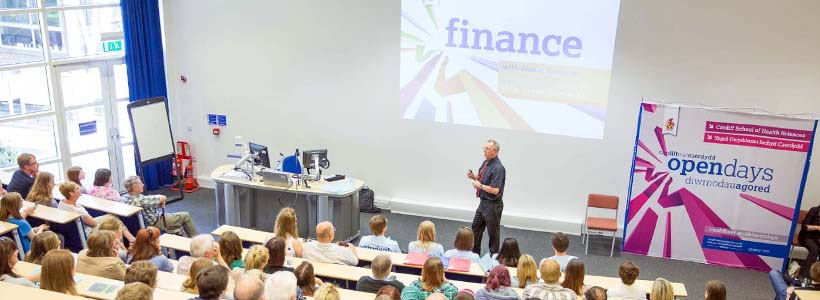 Cardiff Met Open Days - Student Finance Talks