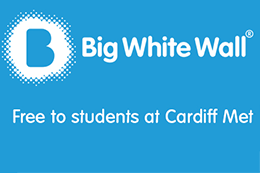 Feeling low or stressed? Having a tough time? Whatever you're struggling with, Big White Wall can help. Free at Cardiff Met.