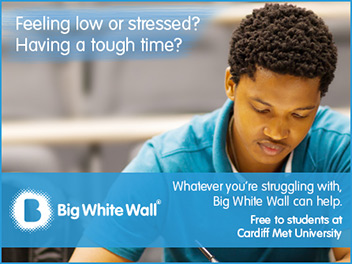 Feeling low or stressed? Having a tough time? Whatever you're struggling with, Big White Wall can help.